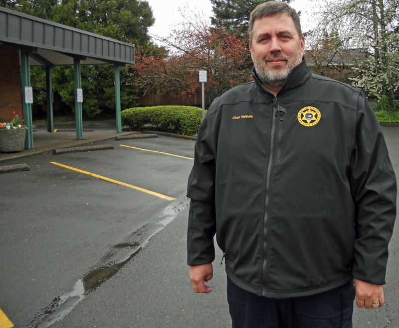 PMG FILE PHOTO - King City Police Chief Ernie Happala leads Washington County's smallest standalone police department.