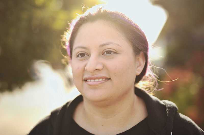 PMG PHOTO: JAIME VALDEZ - Clarizza Paz, of Tigard, spent seven years in the U.S. Army. She earned a Bronze Star in 2013 for her efforts in Afghanistan