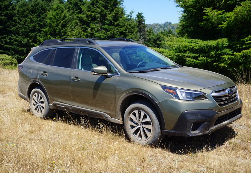 PMG PHOTO: JEFF ZURSCHMEIDE - Subarus like the Outback (pictured) tend to be very affordable to insure for a number of reasons, but one of the biggest ones is the fact that all models come with a suite of advanced safety features as standard equipment.