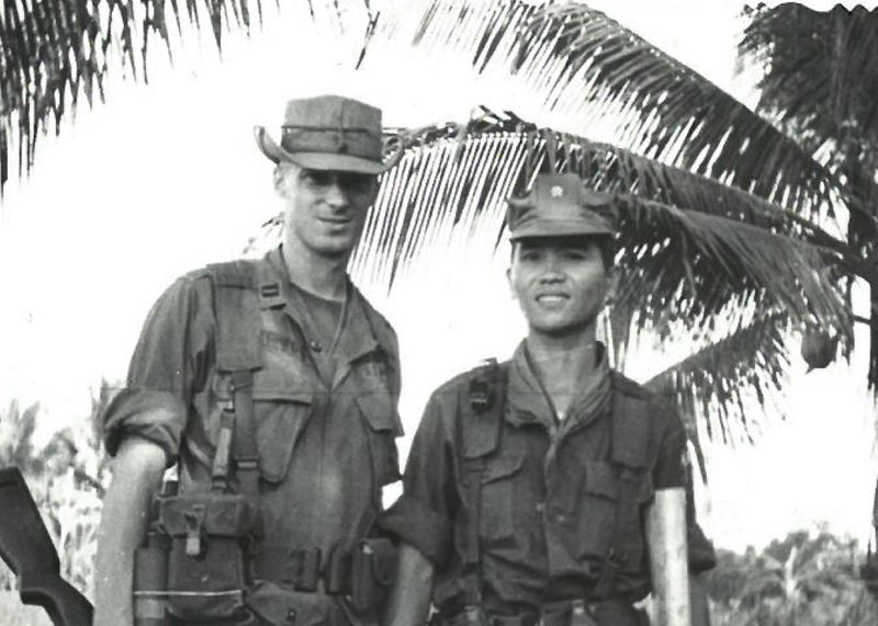COURTESY PHOTO - While in Vietnam, Mitchell served as a combat operations adviser with a South Vietnamese unit.