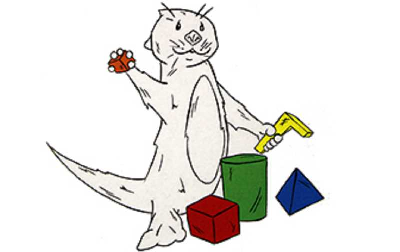 SUBMITTED PHOTO - Jesse Osterkamp created this otter to serve as the new mascot for the Jefferson County Library Youth Services mascot.
