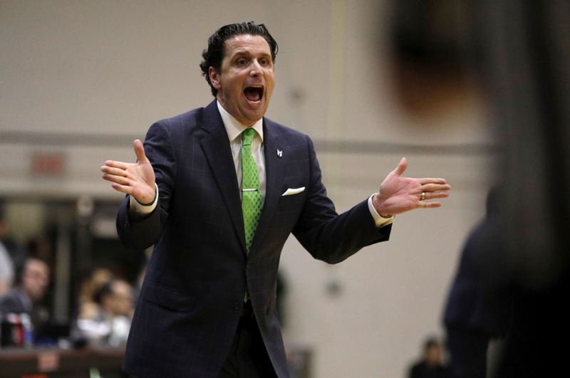 PMG FILE PHOTO: JONATHAN HOUSE - Portland State coach Barret Peery takes the Vikings on the road this week to face the Indiana Hoosiers.