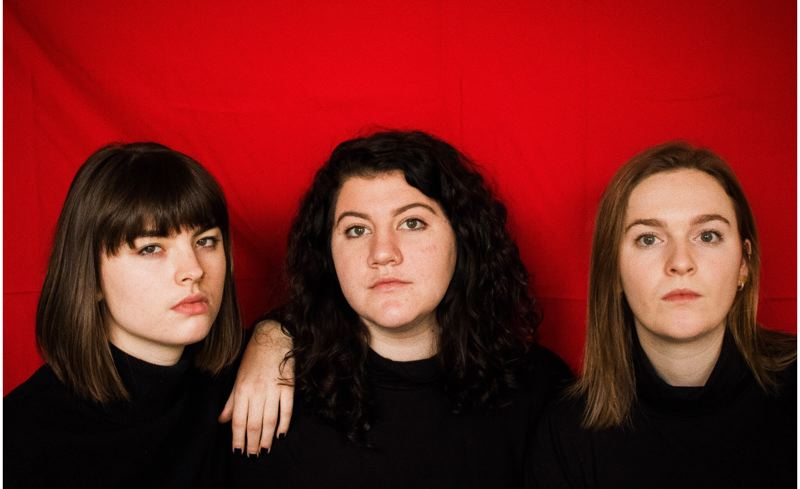 COURTESY PHOTO: SIREN NATION FESTIVAL - Pacific Trio includes, from left, Molly Evered, Chloe Serkissian and Eve Goldman, as well as percussionist Courtney Layacan, and they'll perform at the Siren Nation Festival.