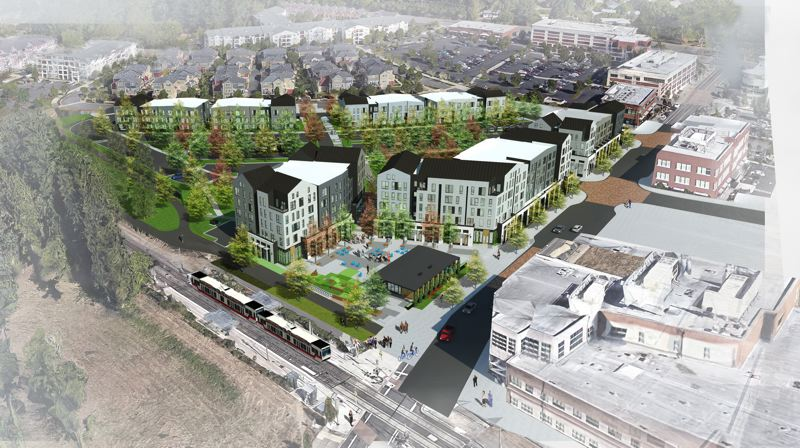 COURTESY RENDERING: YBA ARCHITECTS - The 318-unit Alta Civic Station is already under construction and will be ready for tenants by the end of 2021.