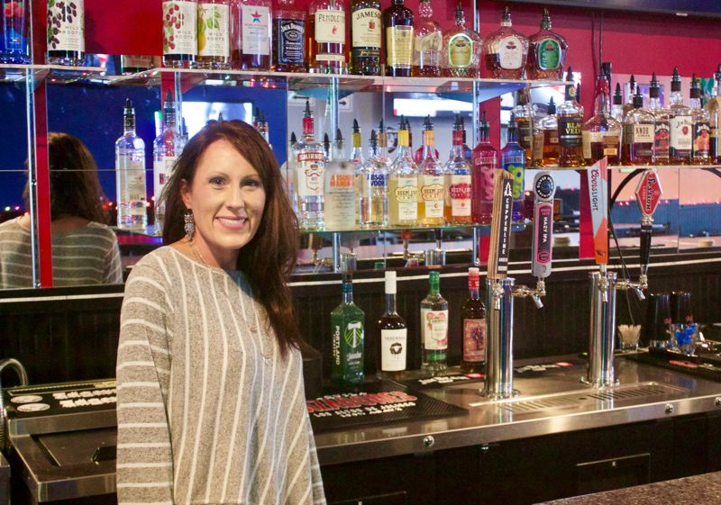 PMG PHOTO: CHRISTOPHER KEIZUR  - Spot on Sports, created by Dani Bloomer, brings sports and drinks into heart of downtown.