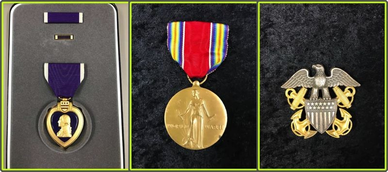 COURTESY PHOTOS - Medals left unclaimed are stored in Salem. The state is trying to find the owners of medals left behind in safe deposit boxes and other places.