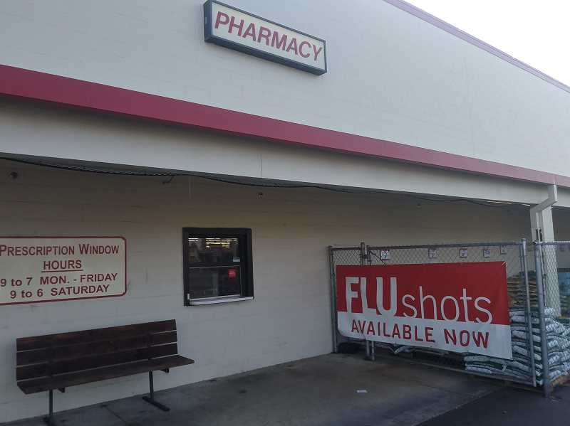 PMG PHOTO: JUSTIN MUCH - Woodburn Bi-Mart Pharmacy will be among the metro-area closures the company announced this week.