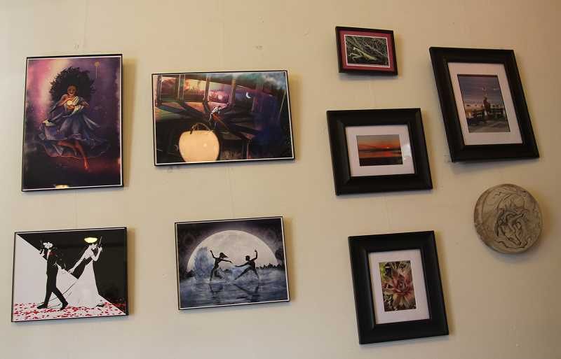 PMG PHOTO: JUSTIN MUCH - Local artists are among the groups and individuals who enjoy patronizing White Rabbit Bakery in Aurora.