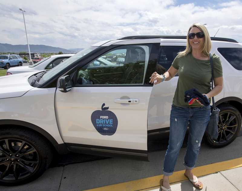 COURTESY PHOTO: FORD - For each test-drive, Ford will donate $20 to Canby High, up to a total of $6,000.