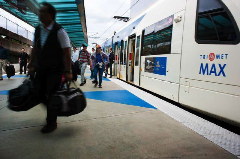 "PMG FILE PHOTO - Voters next year likely will be asked to pay for a light-rail line connecting Portland to Southeast Washington County. Initial talks about shortening the line, or making it ""skinnier"" along Southwest Barbur Boulevard, have been suspended."