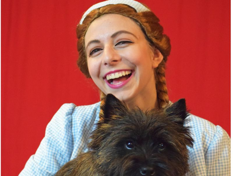 COURTESY PHOTO - Hannah Kemeny plays Dorothy in the Oregon City Children's Theatre production of 'The Wiz Jr.'