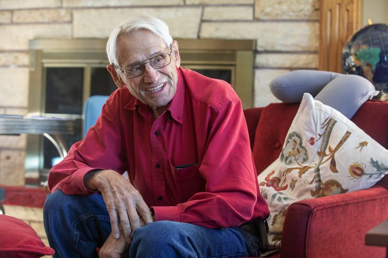 PMG PHOTO: JONATHAN HOUSE - For years, Leonard Bernhardt of Beaverton felt like he served in a pointless war and came home from Korea to little public fanfare or recognition. His perspective has evolved since then.