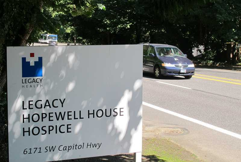 Patients are gone but Hopewell House still operating