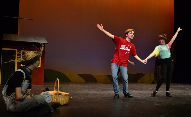 PMG PHOTO: BRITTANY ALLEN - Follow the yellow brick road to Sandy High School at 7:30 p.m. Nov. 15, 16, 21, 22 and 23.
