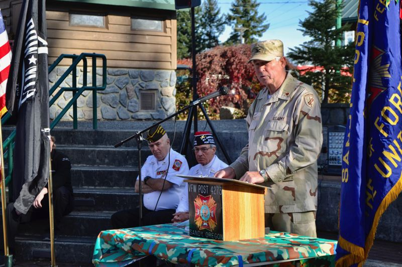 Sandy, Boring communities honor veterans at ceremony