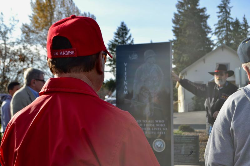 PMG PHOTO: BRITTANY ALLEN - Many who served came out to area Veterans Day events on Nov. 11.