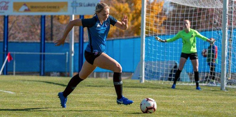COURTESY PHOTO: BOISE STATE UNIVERSITY - Lillie French, a 2016 Lakeridge High School graduate, will help lead the Boise State women's soccer team into the first round of the NCAA Division 1 women's soccer tournament on Friday, Nov. 15.