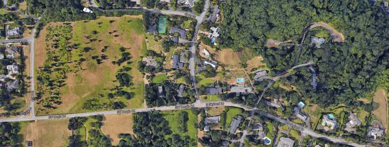 COURTESY PHOTO: GOOGLE - The C800 group will now look to place an emergency communications tower at a location near Bergis Road and Upper Cherry Lane in the Skylands area.