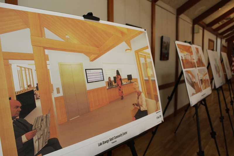 PMG PHOTO: CLARA HOWELL  - The ACC held an open house  Nov. 7 so community members could provide feedback on the proposed facility renovations and ask questions.