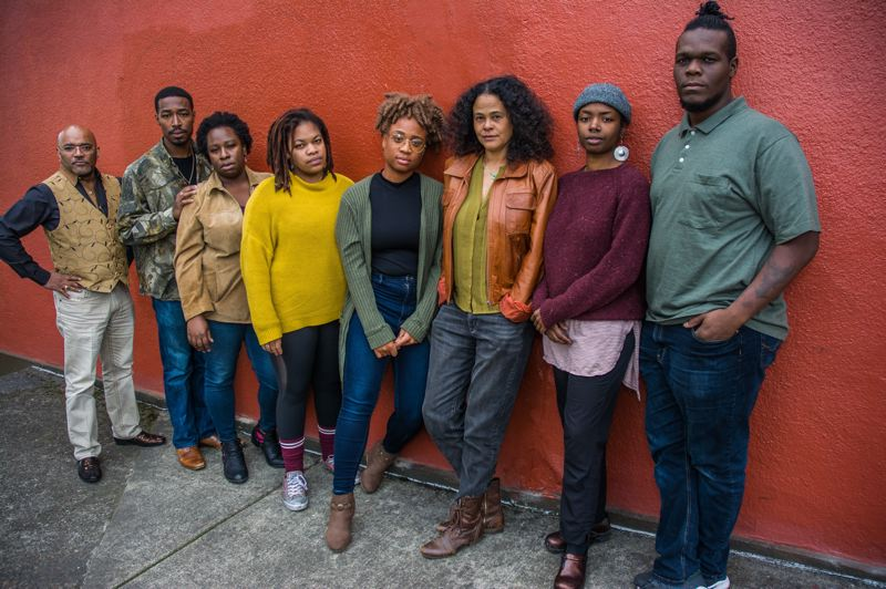 COURTESY PHOTO: SALIM SANCHEZ - The Vanport Mosaic and a team known as 'the project' (above) present 'Soul'd: the economics of our black body,' Nov. 14-24.