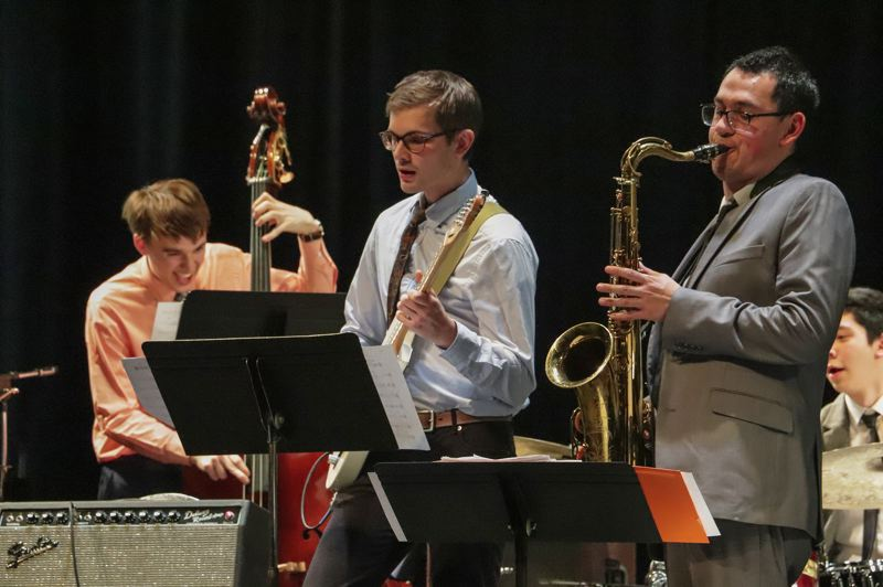 COURTESY PHOTO - Mt. Hood Jazz Festival returns to Mt. Hood Community College next year, and will put an emphasis on young musicians playing alongside veterans.