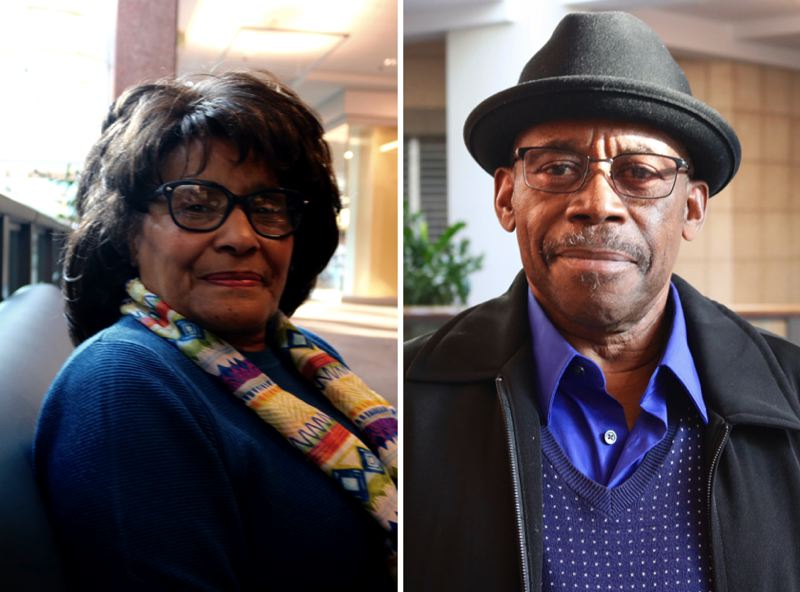 PMG PHOTOS: ZANE SPARLING - Rosa Colquitt and James Posey say they are troubled with the current leadership of the Portland chapter of the  National Association for the Advancement of Colored People.