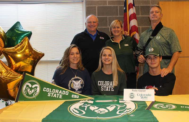 Canby volleyball player signs with Colorado State