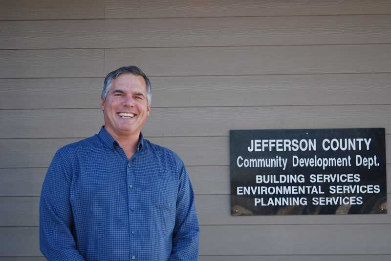 TERESA JACKSON/MADRAS PIONEER - Phil Stenbeck is the new community development director for Jefferson County.