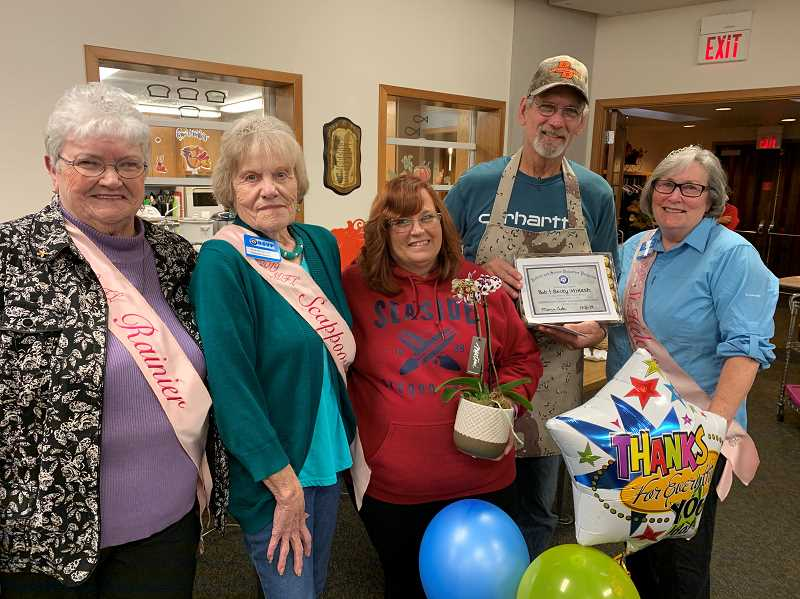 RSVP recognizes November Volunteers of the Month