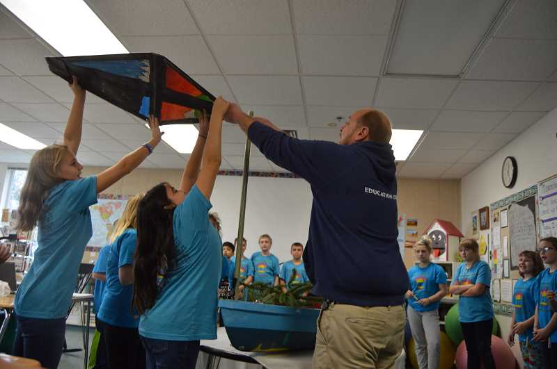 Columbia City Elementary students set sail