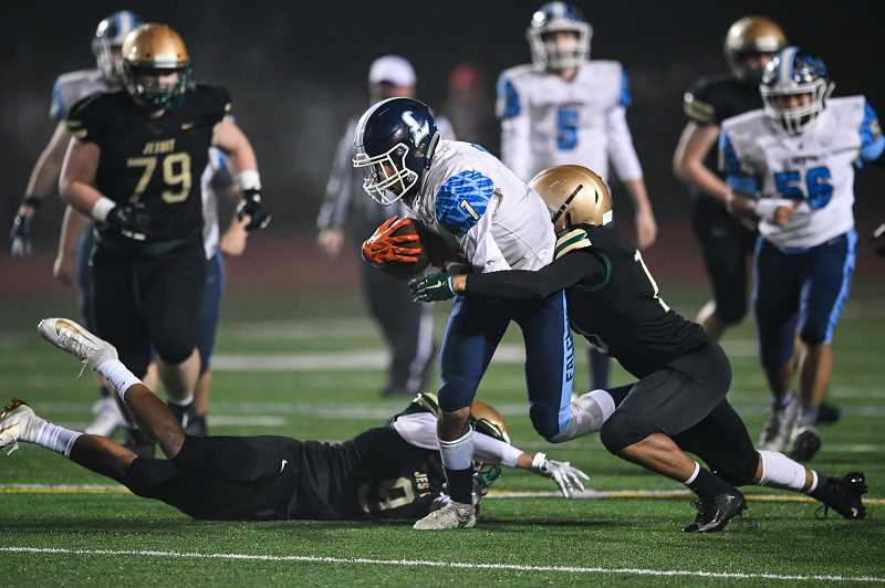 Liberty's season ends in 70-24 loss to Jesuit