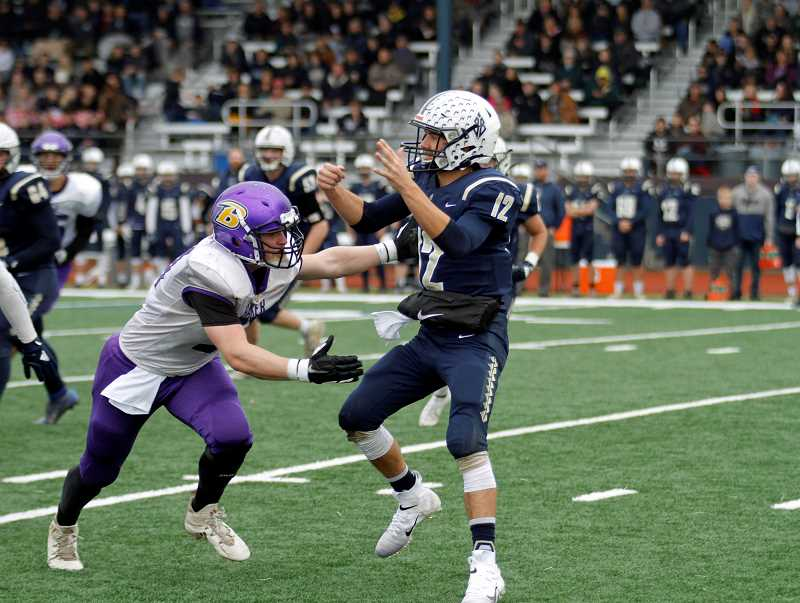 Banks advances with 34-14 win over Baker