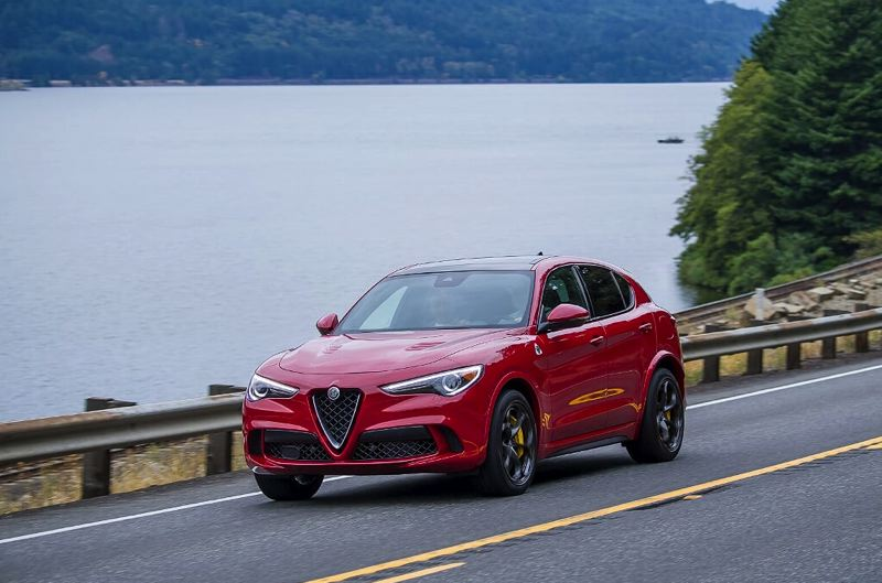 COURTESY NWAPA/DOUG BERGER - The styling of the Alfa Romeo Stelvio Q4 is different than any other compact crossover on the road.