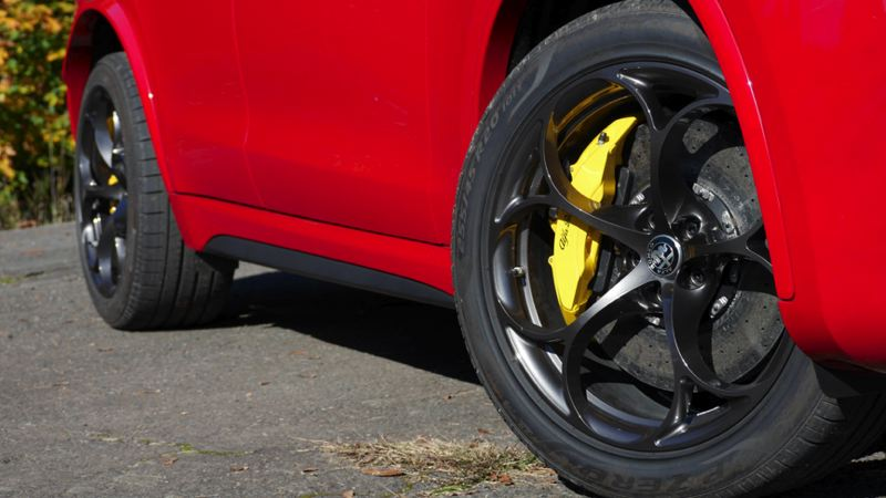 COURTESY FCA - The big brakes are part of the Q4 AWD package.