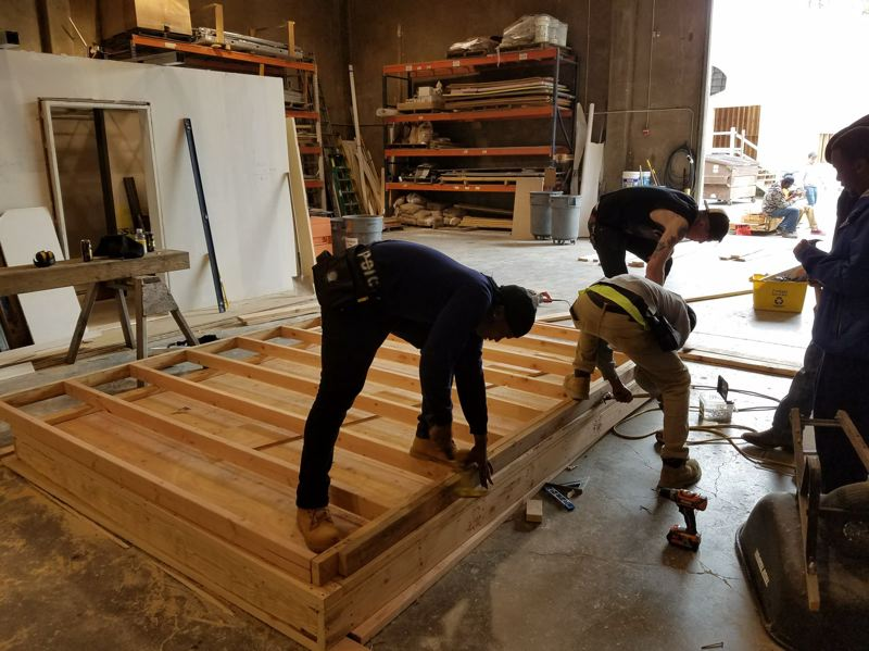 COURTESY: POIC - The POIC pre-apprenticeship program is housed at the Northwest College of Construction, where trainees learn the basics of construction.