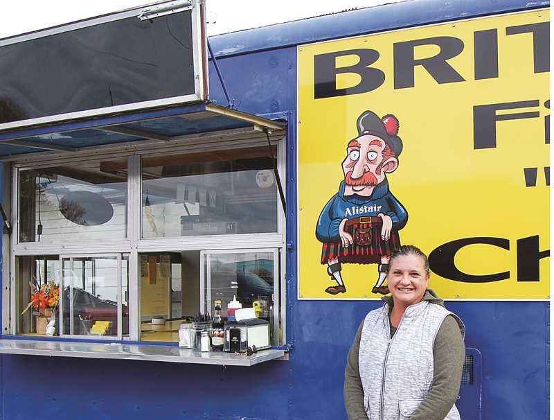 RAMONA MCCALLISTER - Cally Hampton recently took ownership of Cally's McBain Fish and Chips. The business was previously in Redmond, and was originally founded by Alistair McBain, who brought his recipes from London, England.