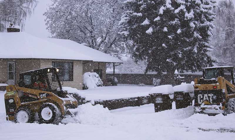 CENTRAL OREGONIAN - Snowstorms are still a possibility, but not as likely this winter.