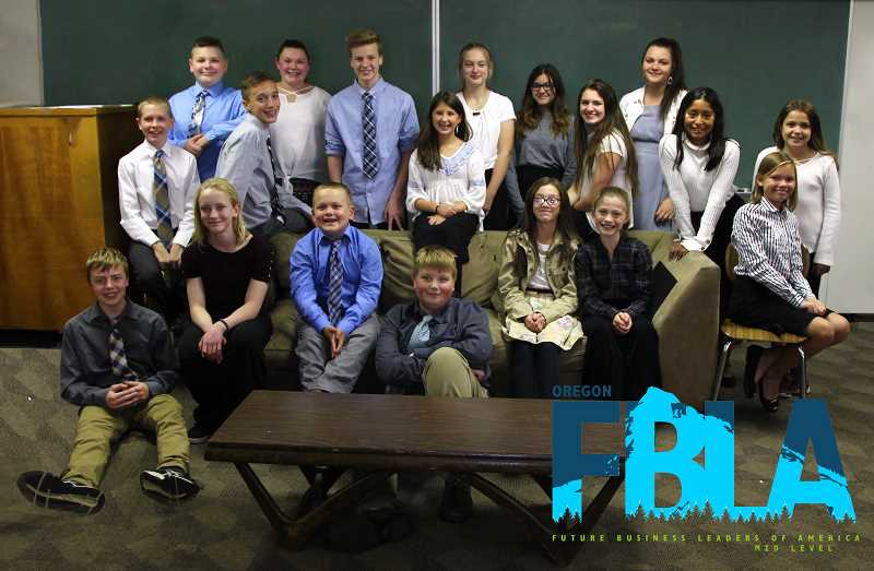 FBLA Molalla Middle School Chapter kicks off