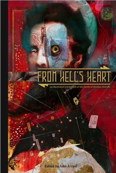 COURTESY PHOTO - Celebrating Herman Melville's writing, the illustrated book 'From Hell's Heart' (above) includes works by artists from around the world, including Valerio Giangiordano from Italy and Hunt Emerson from United Kingdom, as well as local artists Farel Dalrymple, Brandon Graham and Matt Sheean.