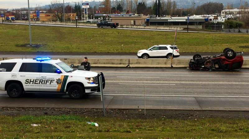 I-84 reopens in Wood Village after second fatal accident on one day