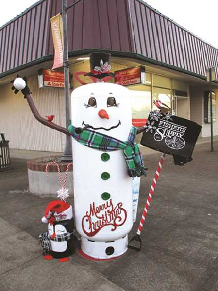 Last year's snowman contest downtown saw plenty of interesting and inspired snowman looks.
