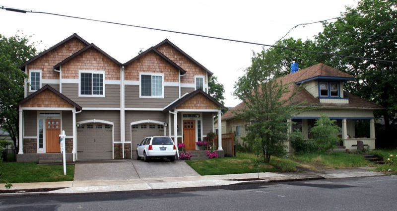 PMG FILE PHOTO - Duplexes must be allowed on practica;lly every residential lot in cities of any significant size in the state under House Bill 2001, which was approved by the 2019 Oregon Legislature.