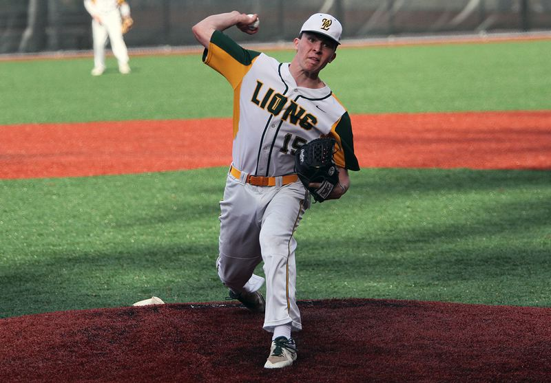 PMG PHOTO: MILES VANCE - West Linn junior Kyle Sullivan (shown here in the spring of 2019) recently accepted a scholarship offer from the University of Portland to continue his baseball career.