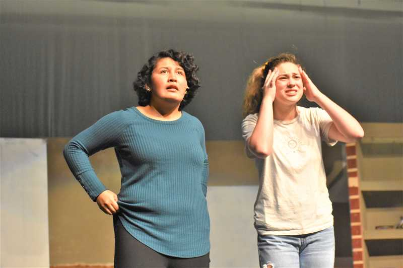 Students bring 'freaky' fun musical to the Estacada stage