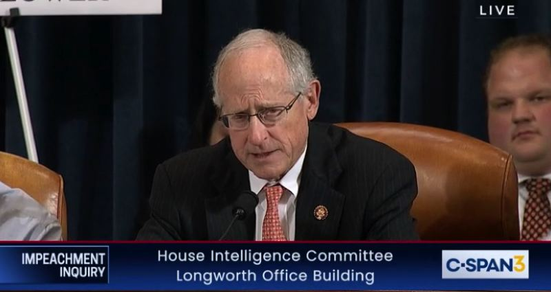 COURTESY PHOTO: C-SPAN - West Texas Congressman Mike Conway said U.S. Rep. Earl Blumenauer's calls for a boycott of Gordon Sondland's hotels amounted to 'bullying' and witness intimidation.