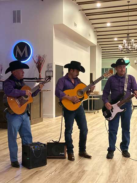 COURTESY OF NOE VALENZUELA - Live music will be part of the Club M event, scheduled for Friday and Saturday evenings after Thanksgiving at the Metropolis in downtown Woodburn.
