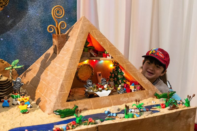 COURTESY PHOTO - Oregon Museum of Science and Industry has opened its Gingerbread Adventures. Above is an image from last year's display.