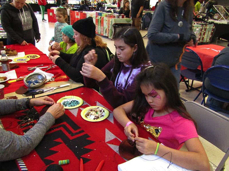 COURTESY PHOTO: PP&R - Portland Parks & Recreation puts on Native American Family Day and Marketplace, Nov. 23 at Mt. Scott Community Center.