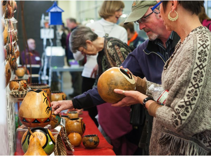 COURTESY PHOTO - Portland Audubon's Wild Arts Festival, highlighting nature and wildlife artists and authors, takes place Nov. 23-24 at Pure Space.