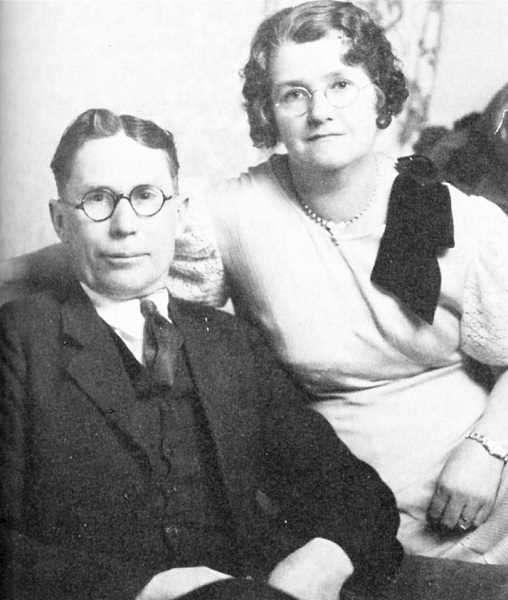 PHOTO COURTESY OF BOWMAN MUSEUM - Scott and Lillian Reams Sasser met in Mitchell and were married in 1910. They had seven children.